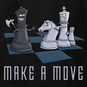 chess_make_a_move_11_2016 Kids' Shirts - Kids' T-Shirt