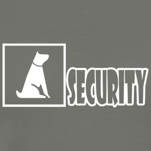 Funny Dog-Security Shirt - Men's Premium T-Shirt