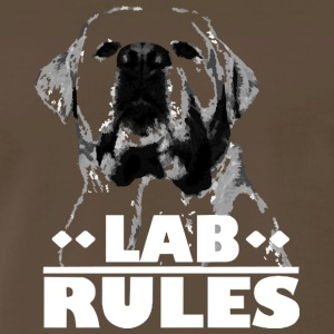 Labrador Rules Shirt - Men's Premium T-Shirt