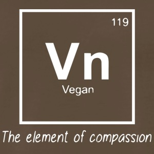 Vegan - The element of compassion - Men's Premium T-Shirt