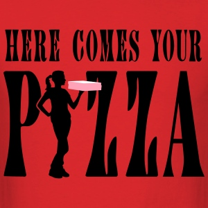 supplier_pizza_service_072016b_3c T-Shirts - Men's T-Shirt