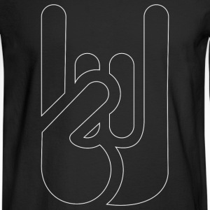 Devil Horns - Men's Long Sleeve T-Shirt