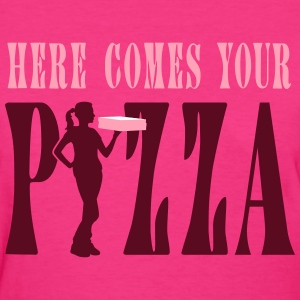 supplier_pizza_service_072016a_3c T-Shirts - Women's T-Shirt