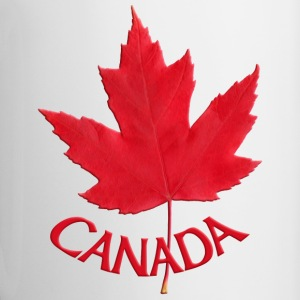 Canada Flag Cups Souvenir Mugs Red Canada Maple Le - Contrast Coffee Mug