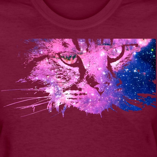 Galaxy Cat (Women Gildan)