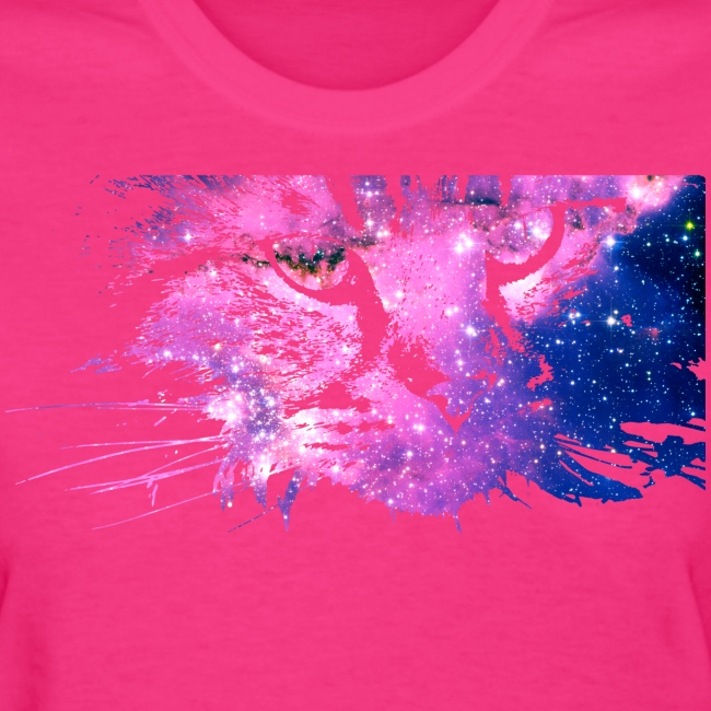 Galaxy Cat (Women Gildan)