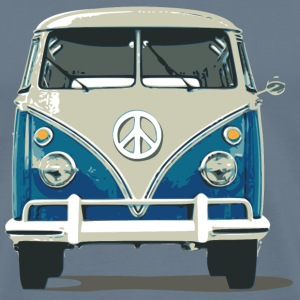 Hippies Bus Peace N Love - Men's Premium T-Shirt