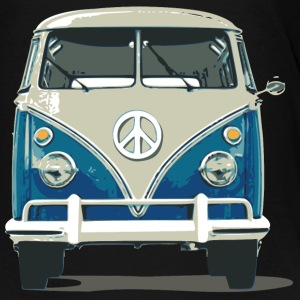 Hippies Bus Peace N Love - Toddler Premium T-Shirt