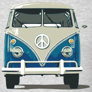 Hippies Bus Peace N Love - Men's T-Shirt