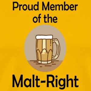 Proud Malt-Right - Men's Premium T-Shirt