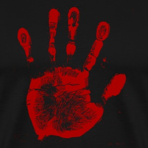 Red Palmprint - Men's Premium T-Shirt