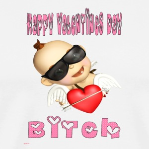 happy_valentines_day_bitch - Men's Premium T-Shirt