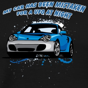 My_car_has_been_mistaken_for_a_UFO_at_night - Men's Premium T-Shirt