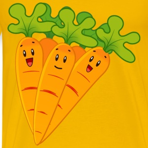 Funny carrots - Men's Premium T-Shirt