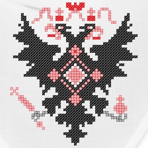 Cross-stitch RUSSIAN IMPERIAL TWO-HEADED EAGLE Caps - Bandana