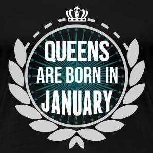 Queens Are Born In February T-Shirts - Women's Premium T-Shirt