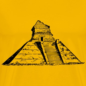 Ancient Mexican pyramid - Men's Premium T-Shirt