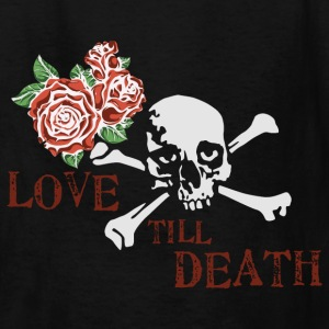 skull_and_roses_12_201603 Kids' Shirts - Kids' T-Shirt
