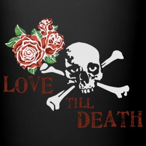 skull_and_roses_12_201603 Mugs & Drinkware - Full Color Mug