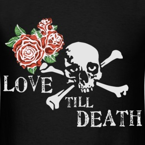 skull_and_roses_12_201602 T-Shirts - Men's T-Shirt