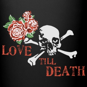 skull_and_roses_12_201601 Mugs & Drinkware - Full Color Mug