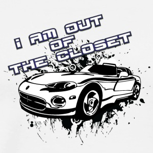 I_am_out_of_the_closet_with_my_cabriolet - Men's Premium T-Shirt