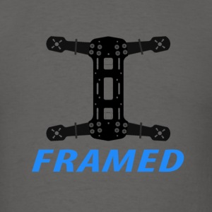 FRAMED - drone/quadcopter - Men's T-Shirt