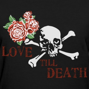 skull_and_roses_12_201603 T-Shirts - Women's T-Shirt