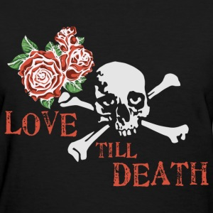 skull_and_roses_12_201601 T-Shirts - Women's T-Shirt