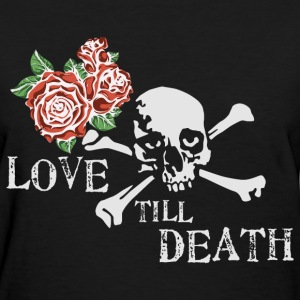 skull_and_roses_12_201602 T-Shirts - Women's T-Shirt
