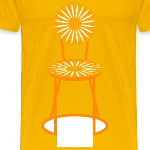 Sunburst Chair - Men's Premium T-Shirt