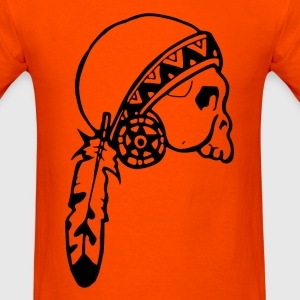 Skull American Native - Men's T-Shirt