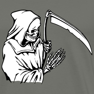 Death, The Great Reaper - Men's Premium T-Shirt