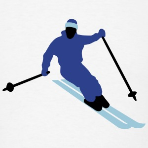 skiing_09_2016_3c03 T-Shirts - Men's T-Shirt