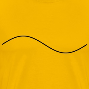 Sine Wave - Men's Premium T-Shirt