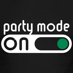 Party Mode On (Partying / Switch On) T-Shirts - Men's Ringer T-Shirt