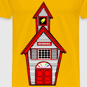 White Schoolhouse - Men's Premium T-Shirt