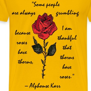 Some people are always complaining. Alfonse Karr - Men's Premium T-Shirt