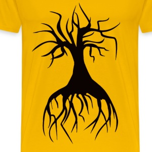 Spider Tree Minus Spider - Men's Premium T-Shirt