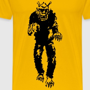 Alien monster - Men's Premium T-Shirt