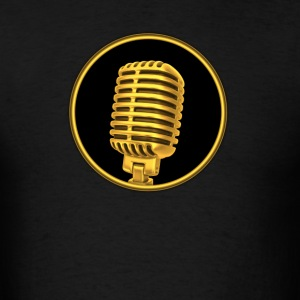 Vintage Microphone - Men's T-Shirt