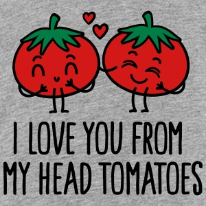I love you from my head tomatoes Kids' Shirts - Kids' Premium T-Shirt