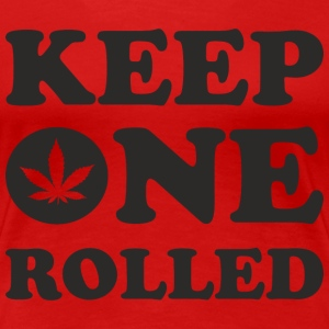 Keep One Rolled T-Shirts - Women's Premium T-Shirt