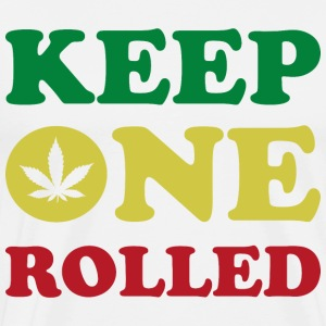 Keep One Rolled T-Shirts - Men's Premium T-Shirt