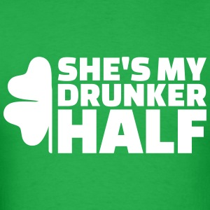 Drunker half T-Shirts - Men's T-Shirt