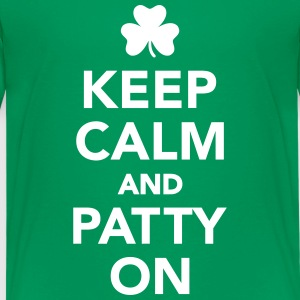 Keep calm patty on Kids' Shirts - Kids' Premium T-Shirt