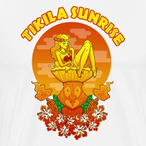 TIKILA SUNRISE - Men's Premium T-Shirt