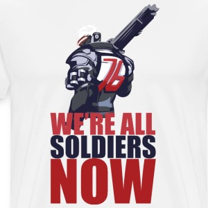 We're All Soldiers Now - Men's Premium T-Shirt