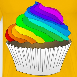 Chocolate Rainbow Cupcake - Men's Premium T-Shirt