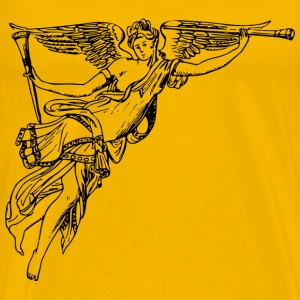 Winged herald - Men's Premium T-Shirt